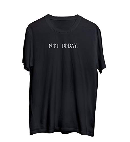 Game Thrones Got The Not Today Quote_MA0555 T-Shirt T-Shirt Shirt Camiseta Men para Hombres Hombre Cute Funny, 2XL Black Men
