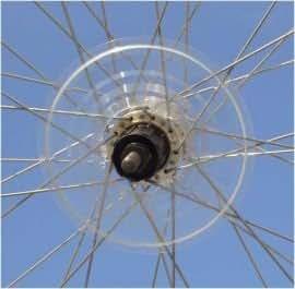 Scheibe Speichenschutz Zubehör Fahrrad Abdeckung Schwungrad Teile Kurbel
