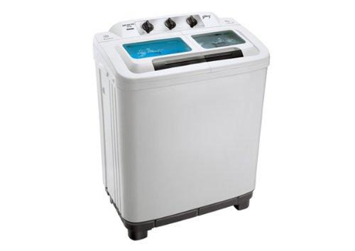 Godrej GWS6502PPC RED Semi-Automatic Top-loading Washing Machine (6.5 Kg, White)