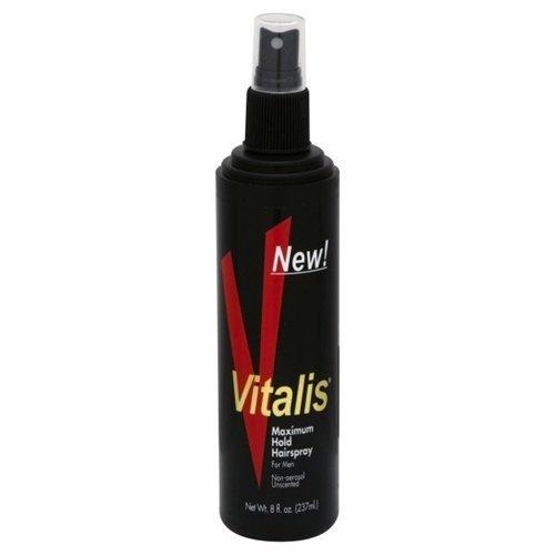 Vitalis Laque capillaire pour homme - Tenue maximum - Non parfumée - 235 ml