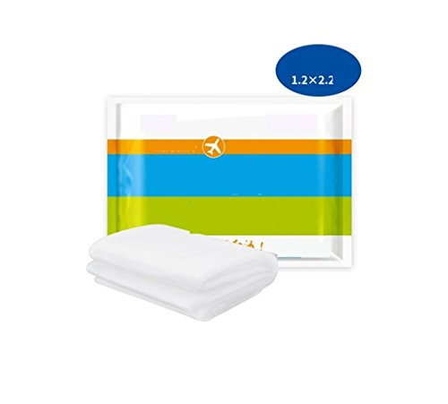 Nola Sang Einweg-Inkontinenz-Bett-Pads mit Kissen-Kappe Absorptions-Packung von 5 Bequemer Schlafsack (Gesteppte Kappe)