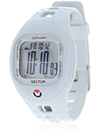 Sector Sports Watch R3251274115 In Collection Outdoor with Digital Display and White Strap