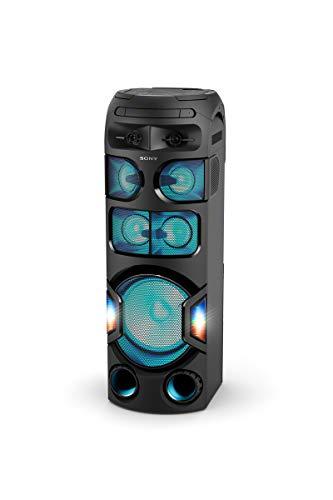 ower Party Lautsprecher (One Box Music Hifi System, 360 Grad Party Sound, Lautsprecherbeleuchtung) schwarz ()