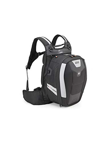 Givi XS317 Xstream Bag Mochila, Color Negro, 30 Litros de Volumen, Carga...