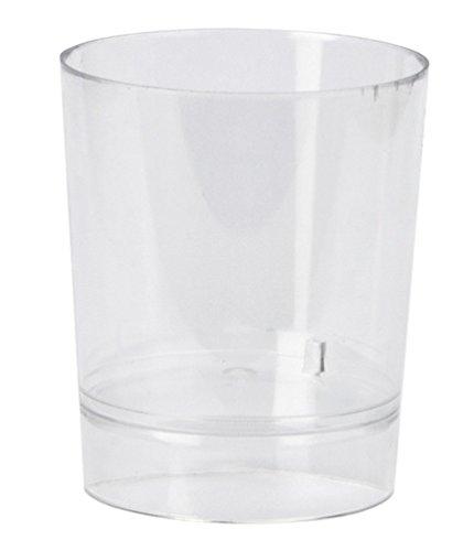 Vaso Chupito Plástico - Caja 1.000 unds. (Transparente)