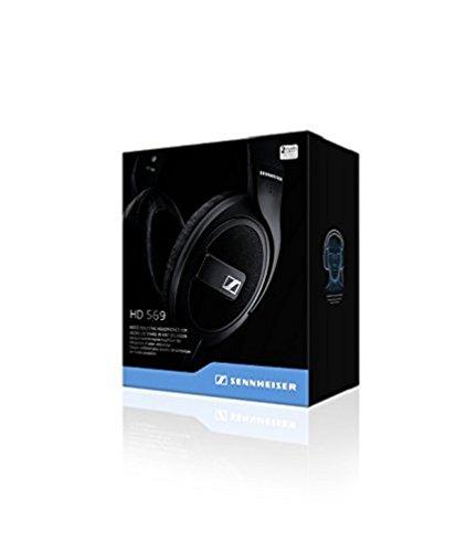 Sennheiser HD 569 Headset (ohrumschließendes, geschlossenes, für Anrufe/Musik) matt-schwarz - 8