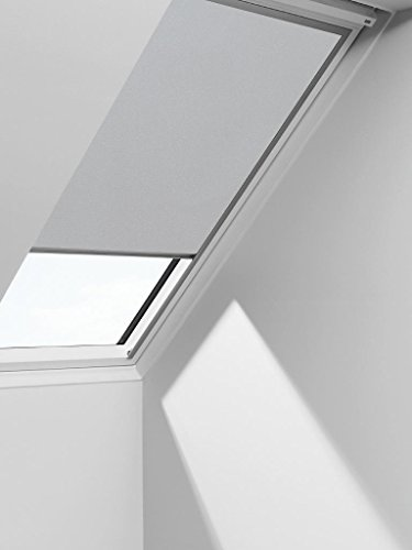 VELUX Blackout Blinds Easy Fit Quality Roof Window Roller in Light Grey 1705