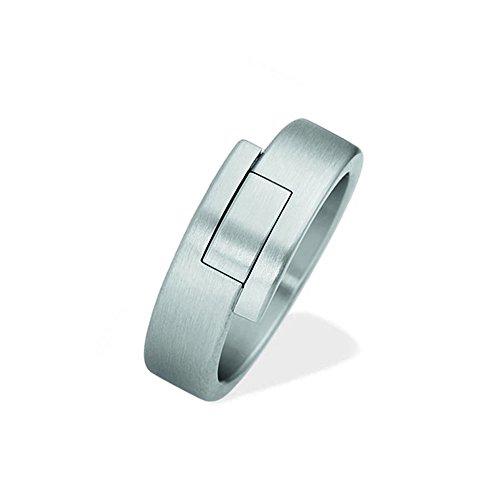 XEN Ring, 5,5 x 2 mm, massiv, Größe 57