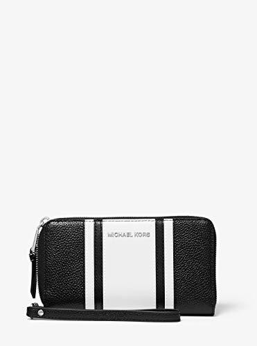 Michael Kors Geldbörse - Smartphonetasche - Leder - SCHWARZ/Weiss - 18x10x3cm - Schlaufe - Damen