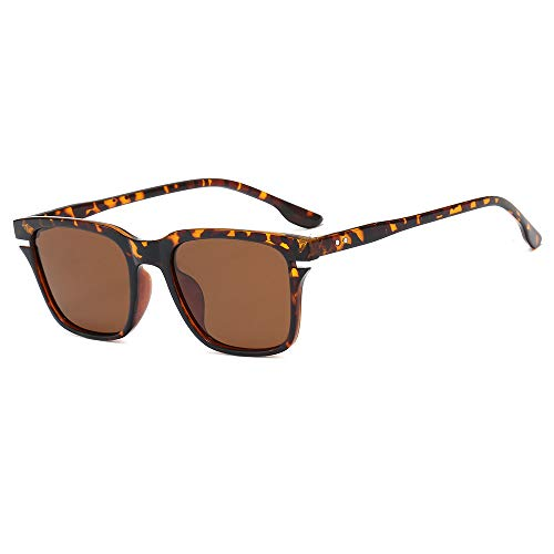 Yangjing-hl Ultralight Herren Sonnenbrille Polarisator Angeln Fahrer Fahren Spiegel Outdoor Sonnenbrille, Siehe Abbildung, Leopard Tea