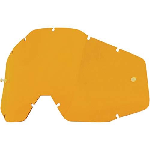 100% Accuri Racecraft/Accuri/Strata Ecran pour Masque Persimmon Anti-Buée
