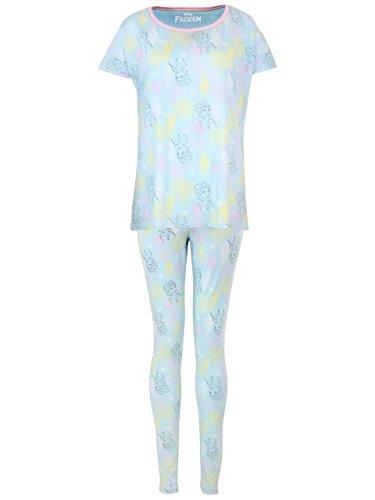 Disney Frozen - Die Eiskönigin Damen Frozen Schlafanzug Small (Frozen Frauen Für Pyjama)