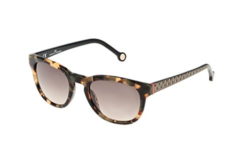 Carolina herrera she605500v83, occhiali da sole donna, (marron), 50