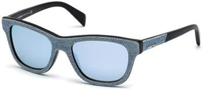 Diesel Gafas de Sol DL0111-86C (52 mm) Azul Claro