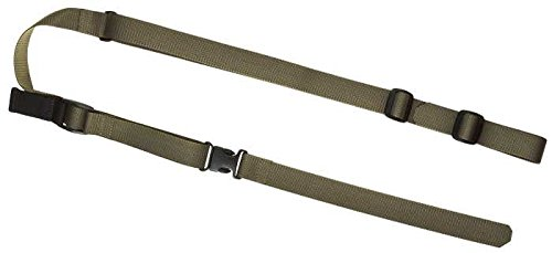 Claw Gear QA Two Point Sling Loop RAL7013, Steingrauoliv