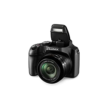 Panasonic LUMIX DC-FZ82EB-K Digital Bridge Camera with Ultra Wide 20-1200 mm Lens - Black