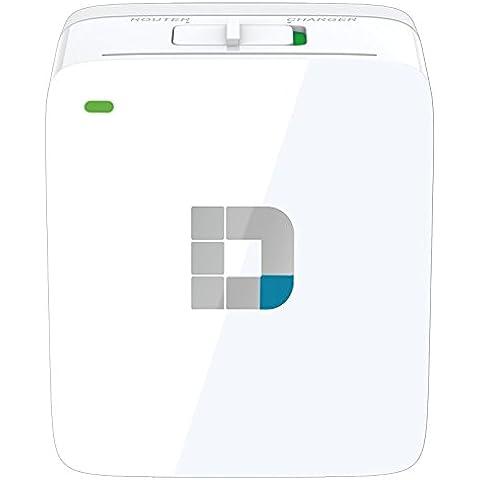 D-Link DIR-518L Router Wi-Fi, AC 600, Caricatore Portatile,