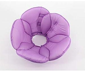 Forme de Fleur Elizabeth Circle Tête de Chat avec tête de Chien pour Animal de Compagnie Tête du Cou Anti-Morsure et léchage