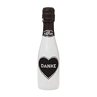Geschenk-Spruch-Dankeschn-personalisiert-Sekt-Flasche-02-l-mit-Swarovski-Kristallen-verziert-Motiv-DANKE