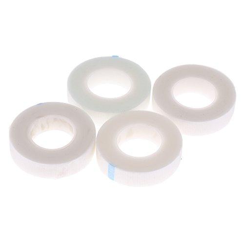 Fenteer 4 Rollen Micropore Papier Tape 1.25cm*9.1m -