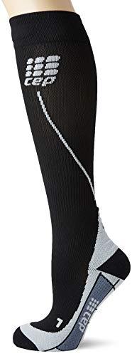 CEP Damen Strumpf Progressive+ Run Socks 2.0, black/grey, Gr.III