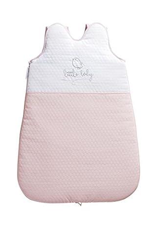 Petit Praia PIU Limited Edition PIU Limited Edition Rosa Kleine Schlafsack ohne Ärmel Weiß/Rosa 65cm