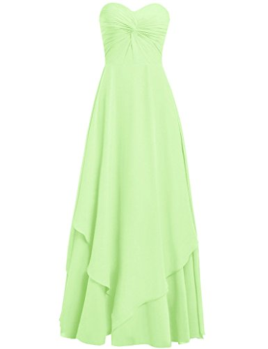 HUINI Damen Modern Kleid Graugrün