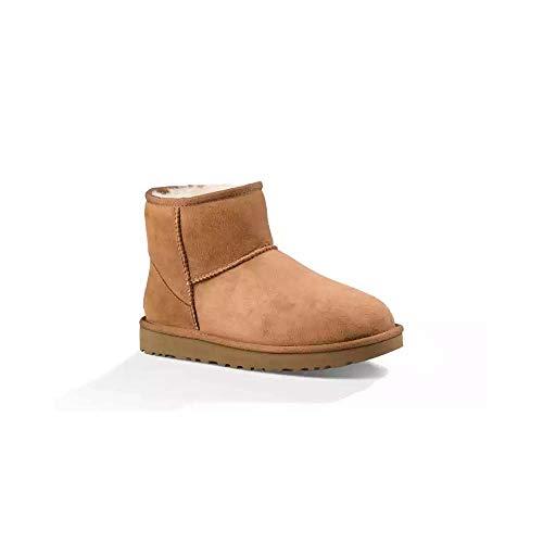 UGG Damen Mini Classic Hohe Sneakers, Braun,