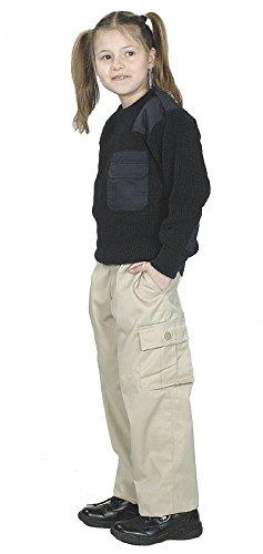 Unbekannt US BDU Pantalon Kids, XL, Kaki