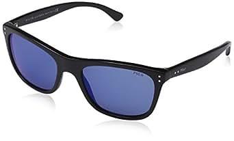 Polo - Lunette de soleil PH 4071 Casual Logo Rectangulaire - Homme - 500155 - Black - Multi Blue
