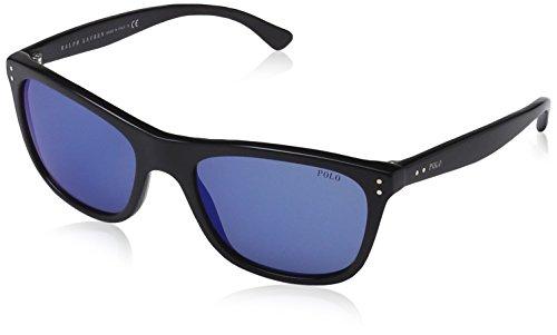 Polo Ralph Lauren Herren 0Ph4071 500155 55 Sonnenbrille, Schwarz (Black/Blute),