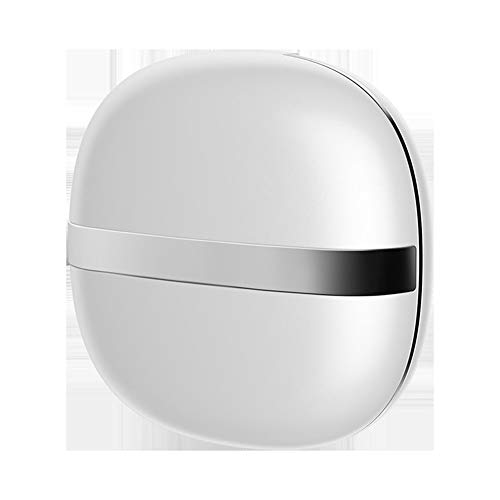 ZXYSHOP Kontaktlinsenreinigungsmaschine, Ultraschall-Kontaktlinsenreiniger mit USB-Ladegerät, klein und tragbar, zur Entsorgung geeignet Weiche Linse mit Farbiger Linse,Silver
