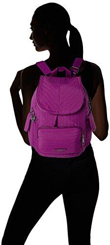 KiplingCity Pack S - Zaino Donna Rosa (Wild Pink)