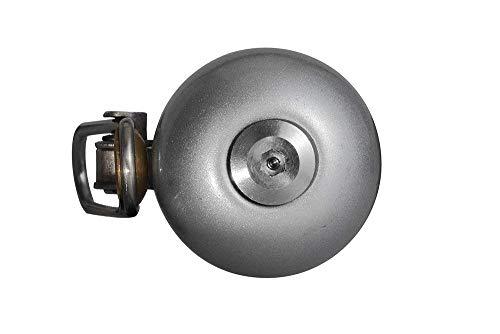 ROCKBROS Radsport Fahrrad Handklingel Fahrradklingel Horn Retro Bell (Silber) - 7