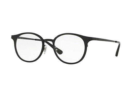 Ray-Ban Damen Brillengestelle 6372M Schwarz (Negro), 50