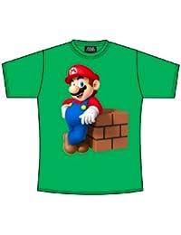Super Mario Bros T-Shirt - Vert - Large