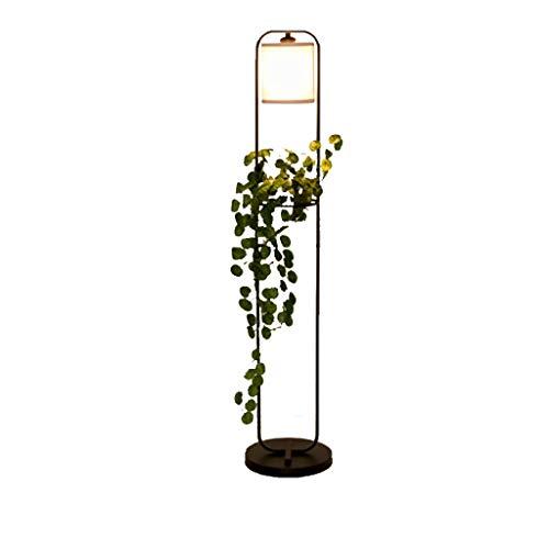 Nordic Creative Lampadaire Simple Étude Chambre Personnalité Restaurant Usine Hydroponique Salon Canapé Vertical Lampe De Table Met Love