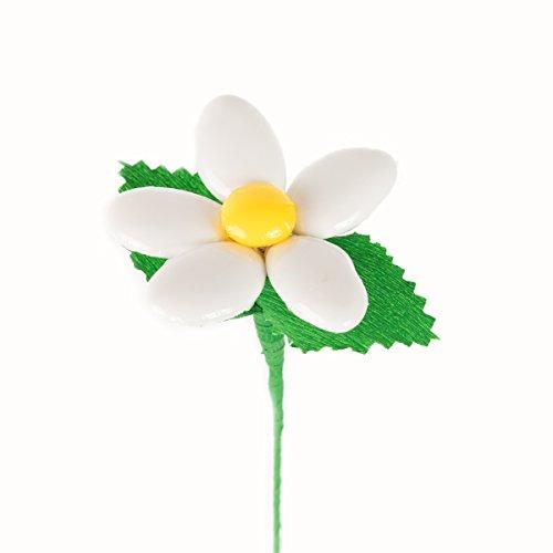Margherita bianca - fiore di confetto - confetti pelino di sulmona