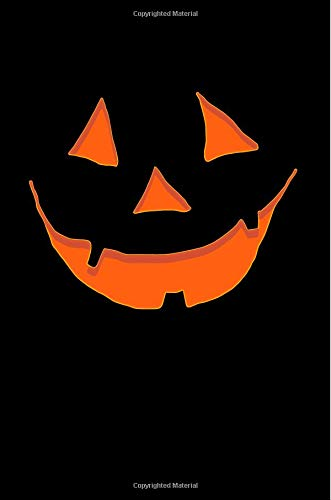 (Jack O' Lantern Notebook: Scary Halloween Jack O' Lantern Face College Ruled Journal)