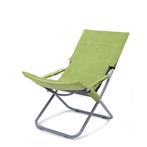 Pliant, canapé, Chaise, Balcon, Bureau, Cour, Pied (Color : Green)