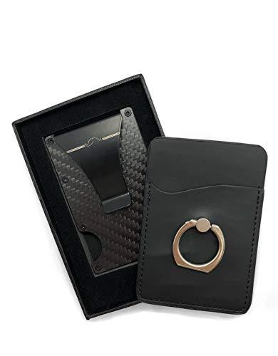 Tarjetero Carbono protección RFID - Cartera Hombre