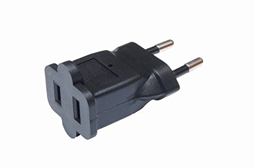 Reisestecker/Adapter: USA/US/Japan/China auf Deutschland/DE/Europa/EU/EUR