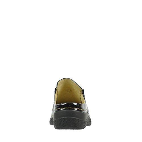 Wolky 6202-621, Zoccoli donna scuro-grigio
