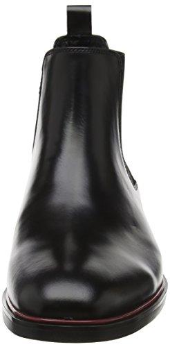 Dune Mars, Chelsea Boots Homme Noir (noir)