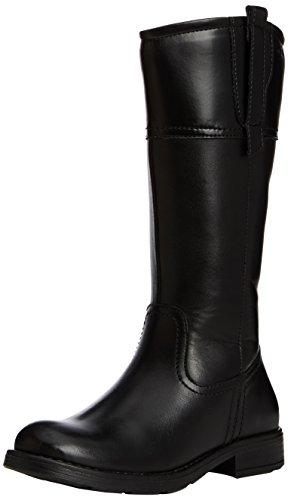 Geox Mädchen JR Sofia B Biker Boots, Schwarz (C9999BLACK), 37 EU -