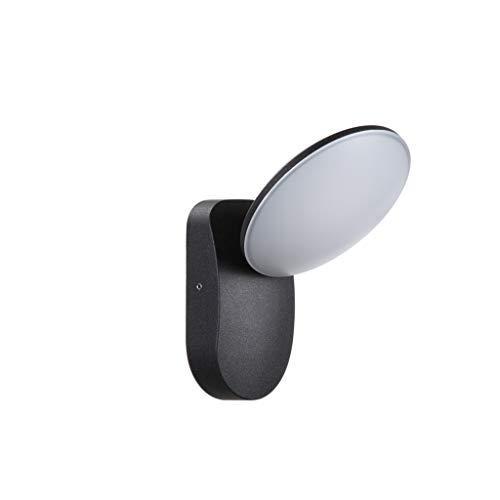 RJ Home Lámpara de Pared al Aire Libre del LED Balcón casero Lámpara de Pared del jardín Luz del Pasillo Lámpara de Pared al Aire Libre Moderna Simple