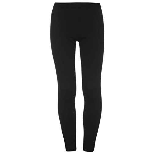 Campri Kinder Thermal Baselayer Leggings Warm Thermo Tight Sporthose Leggins Schwarz 2-3 Yrs