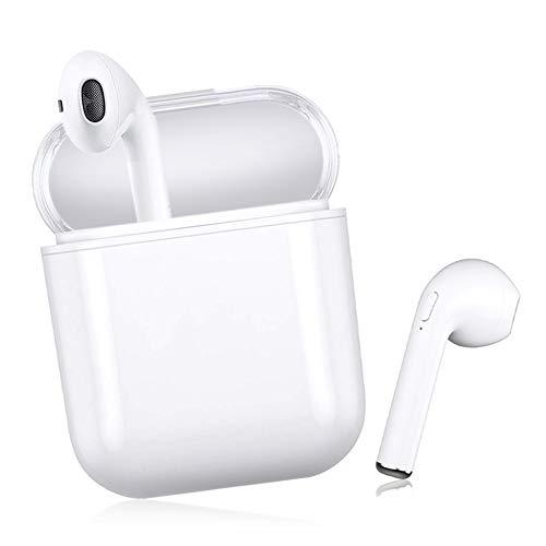 Drahtloses Headset Bluetooth-Headset Sportkopfhörer In-Ear-Kopfhörer Kopfhörer mit Geräuschunterdrückung HiFi-Kopfhörer mit Mikrofon, kompatibel mit Smartphone
