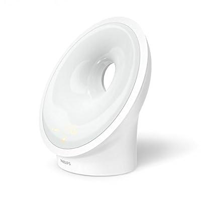 Philips Wake-up Light LED, Aufwachen und Einschlafen mit Licht, weiß, HF3651/01 von Philips