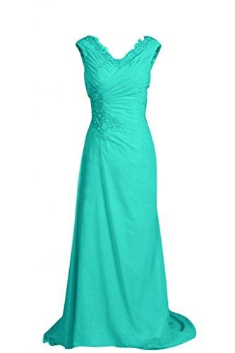 Sunvary Retro con lacci, linea fondo arricciato Gowns per abiti da sera o da cerimonia, con diamanti Ink Blue